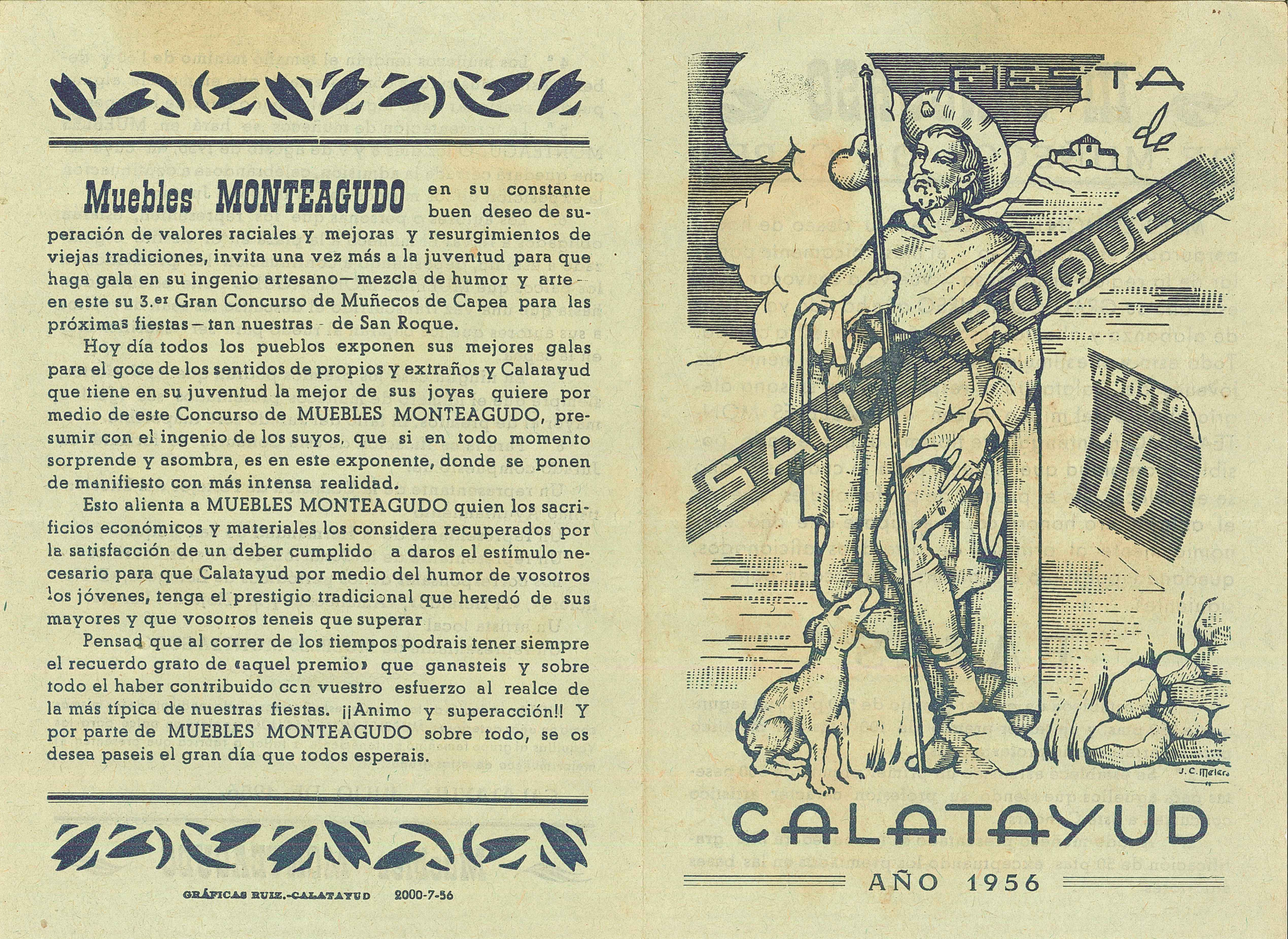 Curiosidades Acr Pe A San Roquera La Uni N Calatayud # Muebles Roqueros